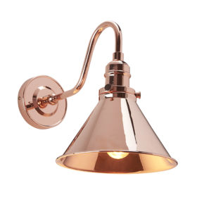 ELSTEAD – Provence 1lt Wall Light Polished Copper