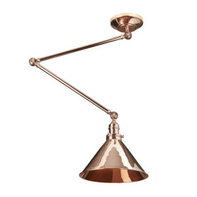 ELSTEAD – Provence 1lt Wall Light/Pendant Polished Copper