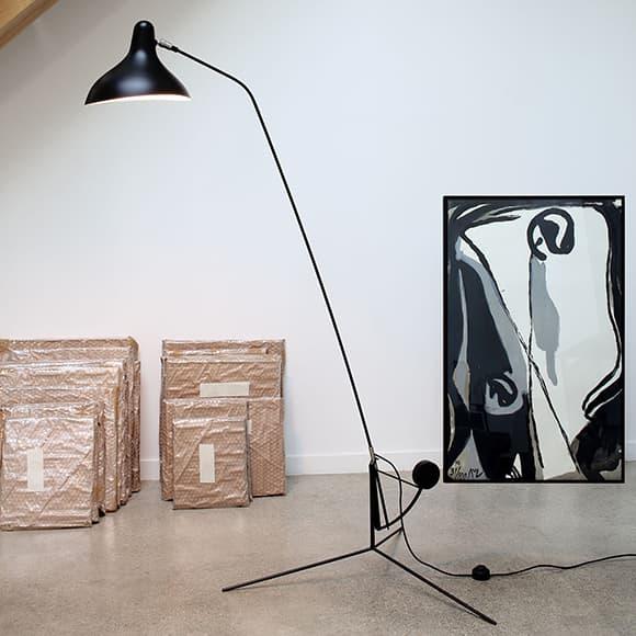 Lampe Gras MANTIS floor