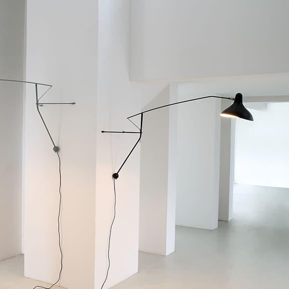 Lampe Gras MANTIS wall