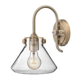 ELSTEAD – Congress Clear Glass Wall Light