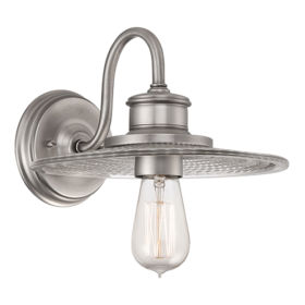 ELSTEAD – Admiral 1Lt Wall Light Antique Nickel